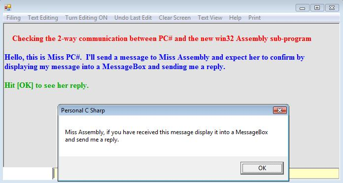 Boosting PC# speed further by using C and Assembly Sub-Programs